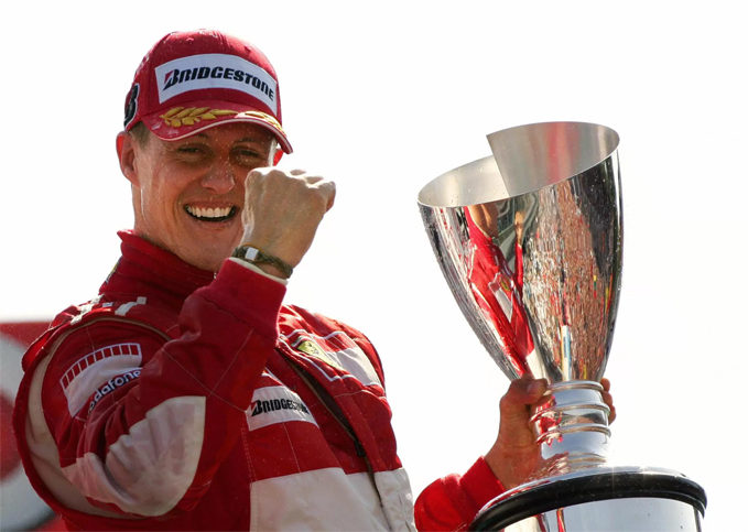 Michael Schumacher, Scuderia Ferrari world champion