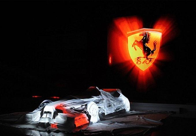 2017 Scuderia Ferrari car