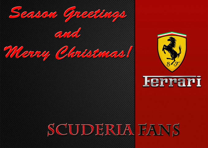 Merry Christmas And Happy New Year from Scuderia Fans
