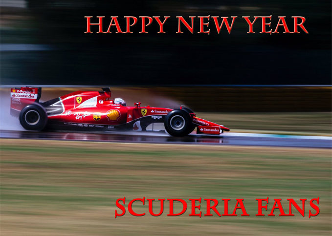 Happy New Year from Scuderia Fans