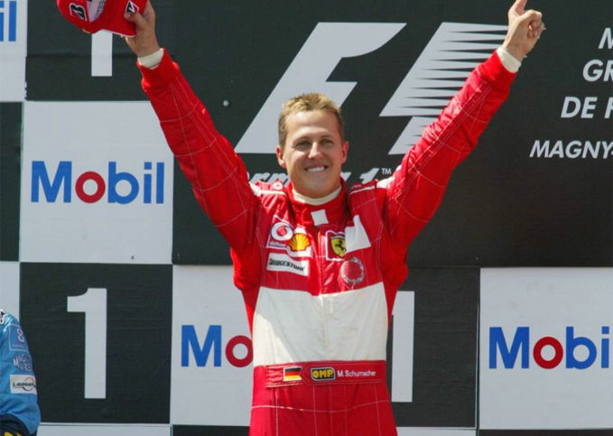 Michael Schumacher (2004 French GP)