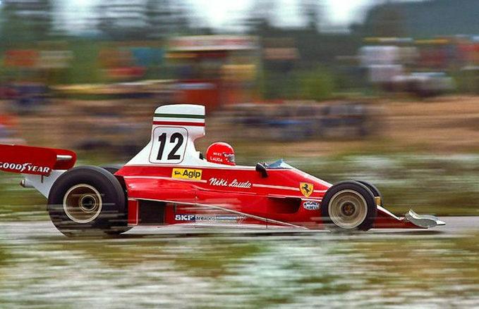 Niki Lauda, Scuderia Ferrari, 1975, the Ferrari - McLaren rivalry