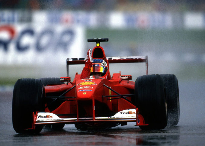 Rubens Barrichello, Ferrari, 2000 German GP