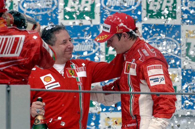 Kimi Raikkonen, Ferrari, 2007 Brazilian Grand Prix