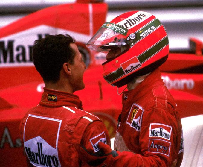 Michael Schumacher, Eddie Irvine, Ferrari, 1997 Monaco Grand Prix
