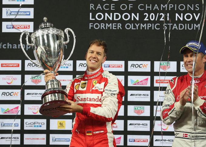 Sebastian Vettel, Race of Champions