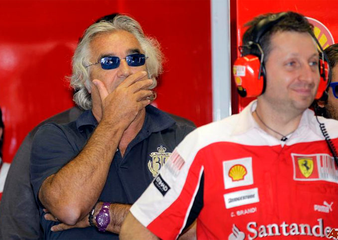 Flavio Briatore, Ferrari