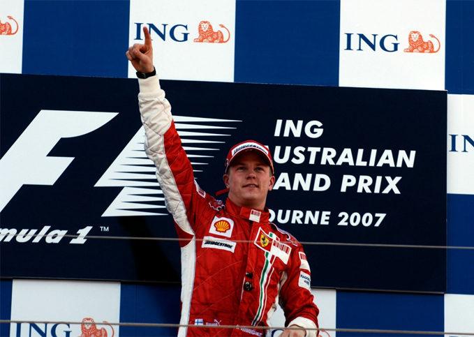 Kimi Raikkonen, Scuderia Ferrari, 2007