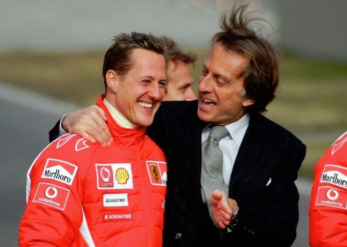 Michael Schumacher, Luca di Montezemolo, Ferrari