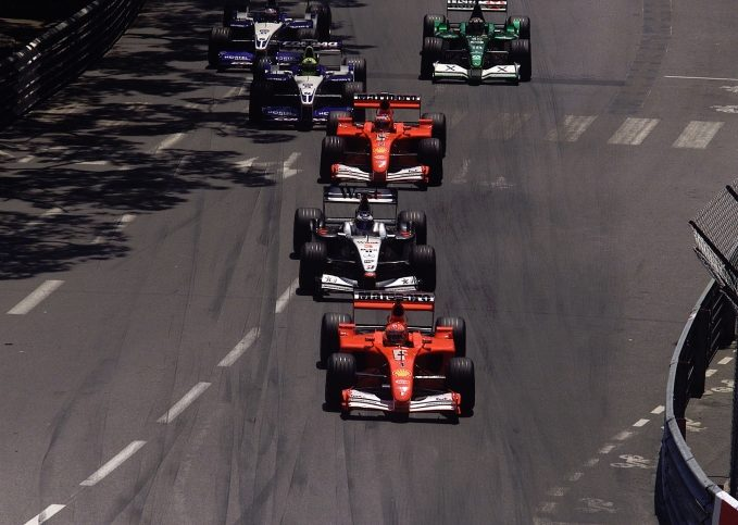 Michael Schumacher, 2001 Monaco GP
