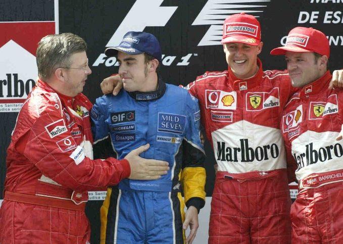 Michael Schumacher, Ferrari, 2003 Spanish Grand Prix