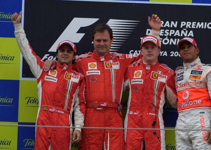 Scuderia Ferrari, 2008 Spanish GP