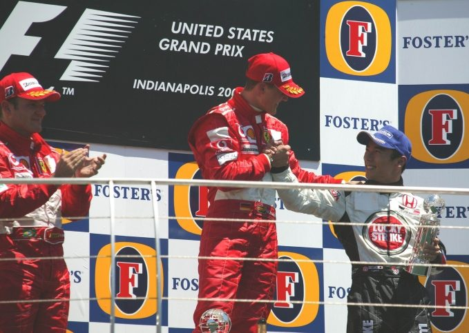 Michael Schumacher, 2004 United States GP