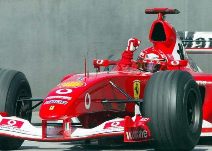 Michael Schumacher, 2003 Austrian GP