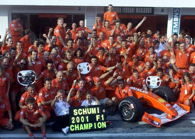 Michael Schumacher, 2001 Formula 1 World Champion
