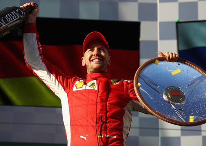 Sebastian Vettel, Scuderia Ferrari, 2018 Australian GP