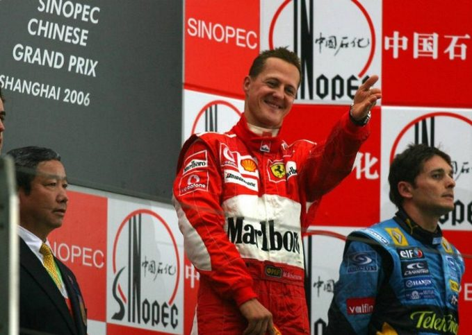 Michael Schumacher, 2006 Chinese Grand Prix