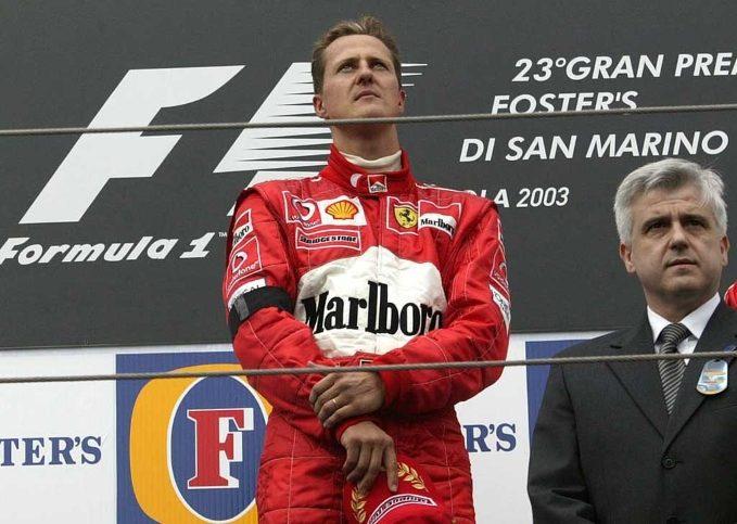Michael Schumacher, 2003 San Marino GP