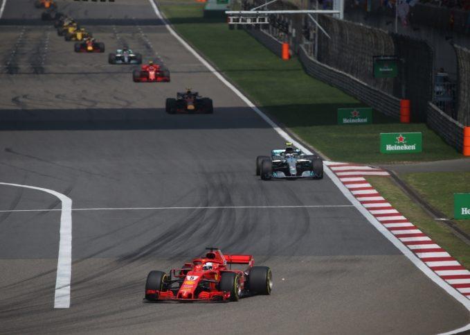 2018 Chinese Grand Prix start