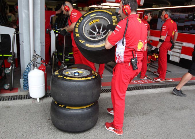 Pirelli, practice