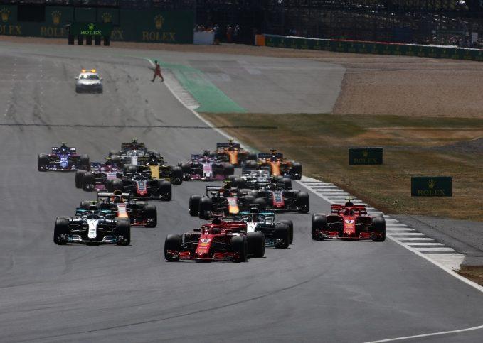 Silverstone, 2018 British GP start