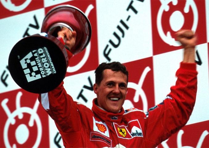 Michael Schumacher, 2000 Japanese GP, Suzuka