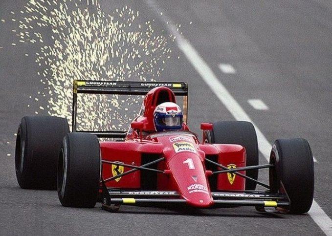 Alain Prost, Ferrari, 1990