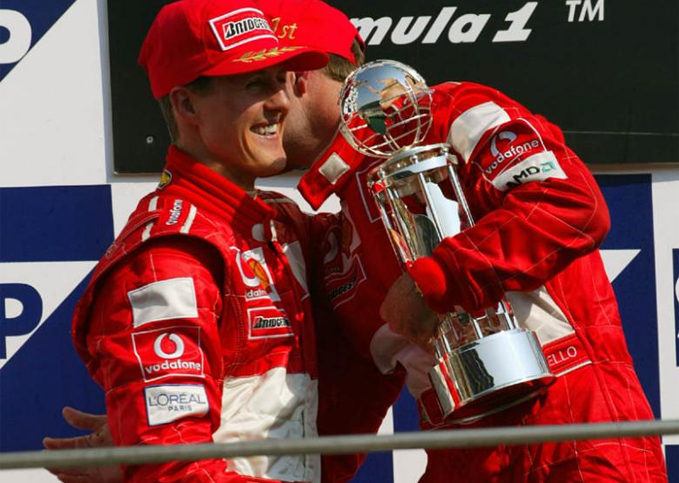 Rubens Barrichello, Michael Schumacher, 2002 United States GP