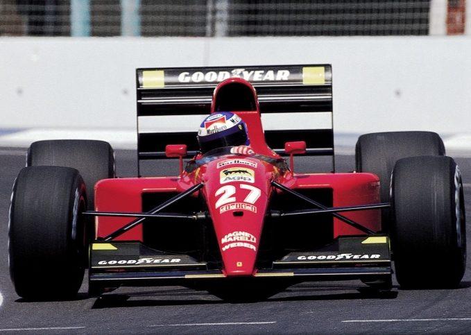 Gianni Morbidelli, Ferrari, 1991