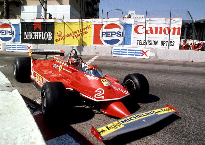 Gilles Villeneuve (Ferrari 312T5), 1980 Monaco GP