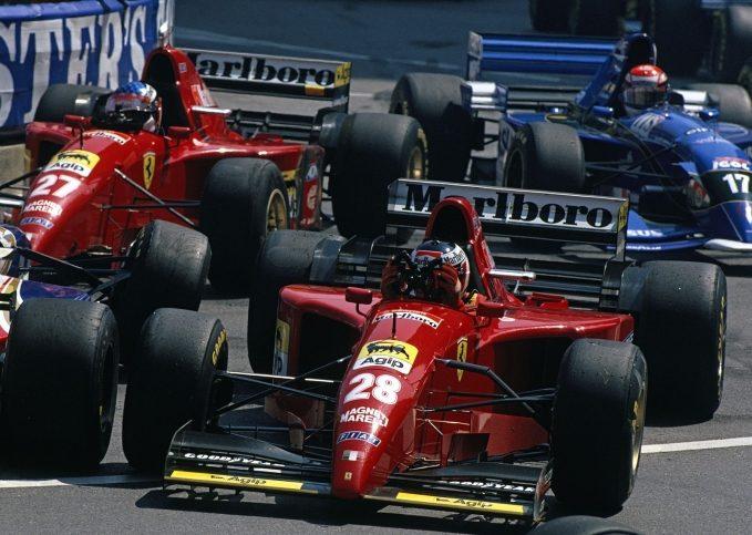 Gerhard Berger, Ferrari, 1995 Monaco GP