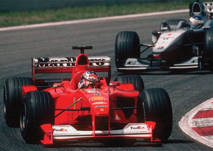 Michael Schumacher, Ferrari, 2000