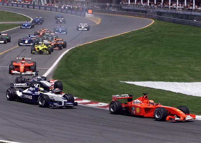Ralf Schumacher, Michael Schumacher (2001 Canadian GP)