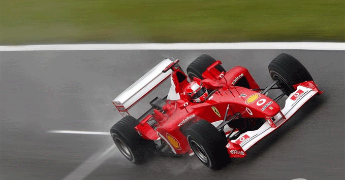 Michael Schumacher, Ferrari, 2002