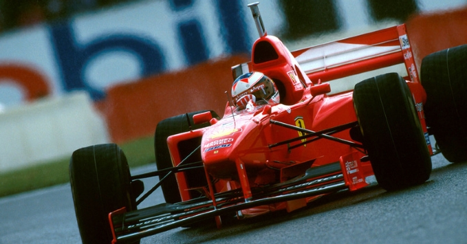 Watch 1997 French Gp Michael Schumacher Rare Video For A Great Pole With The Ferrari F310b