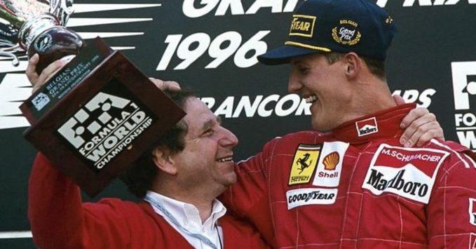 Jean Todt, Michael Schumacher, 1996, Belgian GP