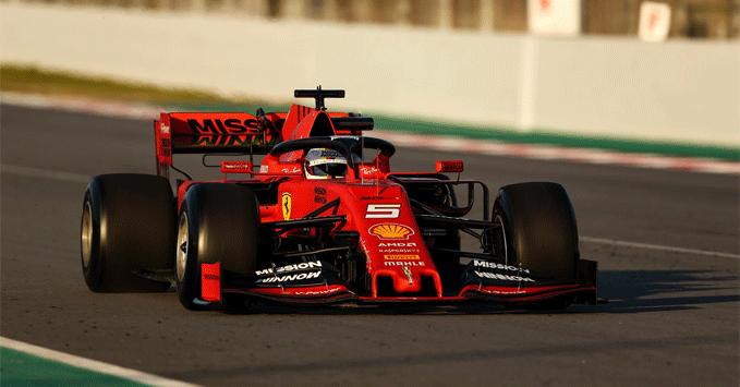 Sebastian Vettel, Ferrari, Pirelli tyres, practice