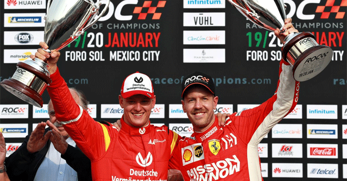 Mick Schumacher, Race of Champions 2019