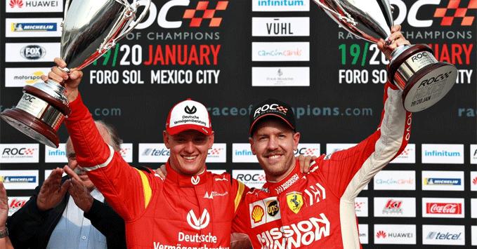 Mick Schumacher, Race of Champions 2019
