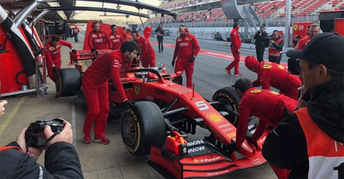 Practice Ferrari