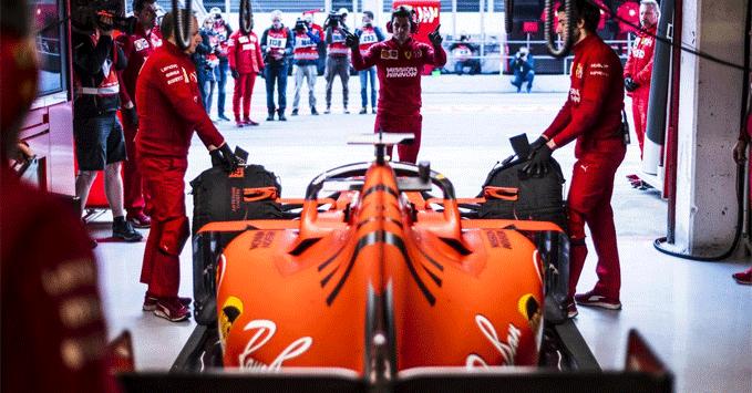 Ferrari SF90, practice