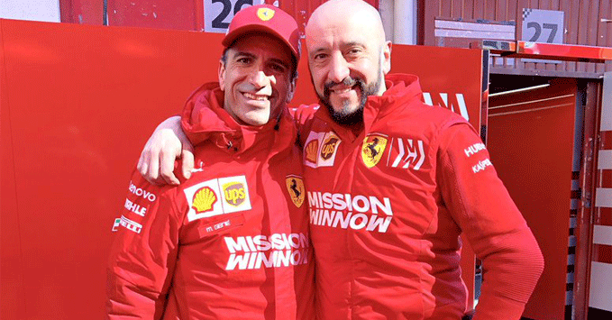Marc Gene, Francesco Cigarini, Ferrari