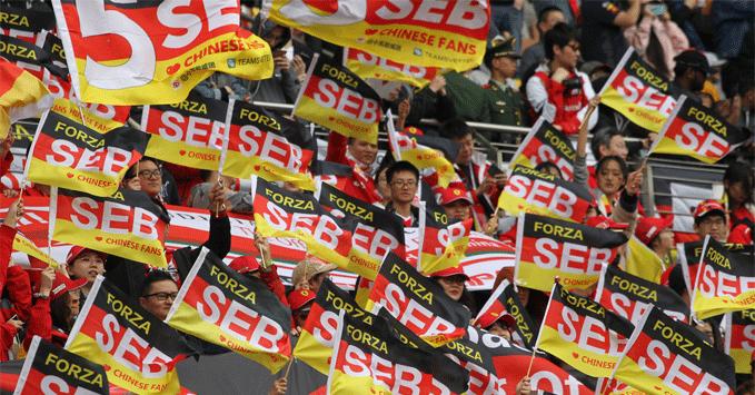 Ferrari fans, 2019 Chinese GP