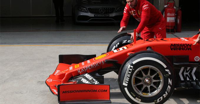 Practice, Pirelli tyres
