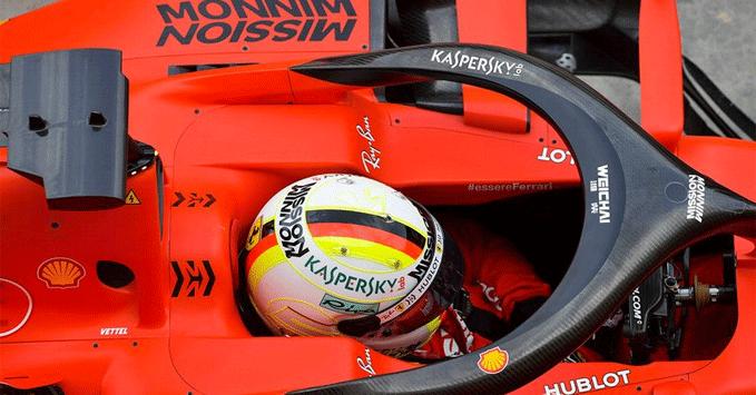 Sebastian Vettel, SF90, Ferrari
