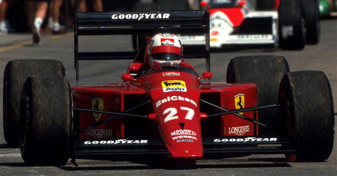 Nigel Mansell, Ferrari 640, 1989