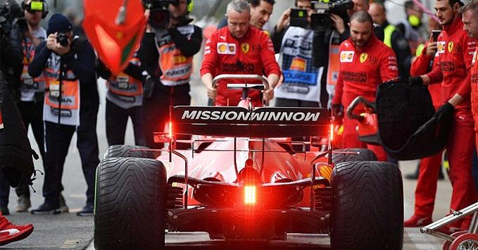 Ferrari SF1000, practice